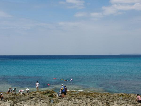 純淨的大海