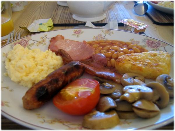 超級超級好吃的英式早餐