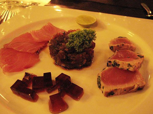 三風味的魚料理