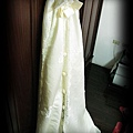 厚緞面裙襬
