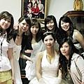 新娘與伴娘群