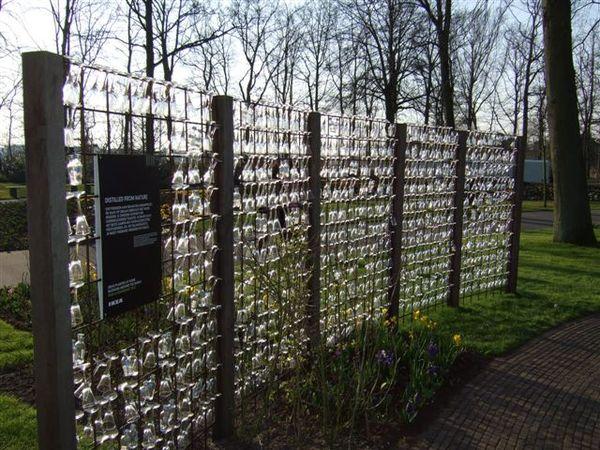 庫肯霍夫花園-ikea高腳杯牆