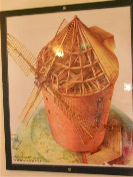 庫肯霍夫花園--風車結構圖