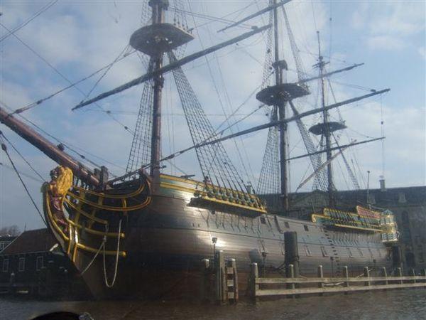 阿姆斯特丹-乘船遊覽