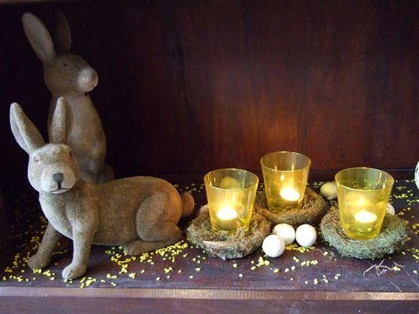阿姆斯特丹-飯店的復活節擺飾