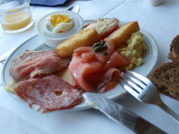 阿姆斯特丹-的飯店早餐
