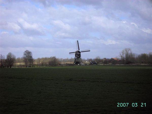 阿姆斯特丹--第一次看到的風車