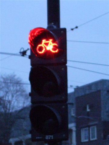 阿姆斯特丹--單車專用號誌