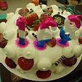 草莓蛋糕~~超好吃的!!