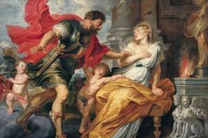 魯斯本《戰神與莉亞.席爾為亞》