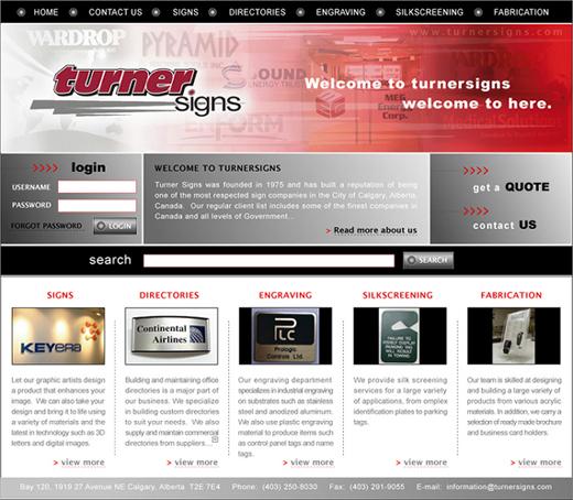 網頁設計website