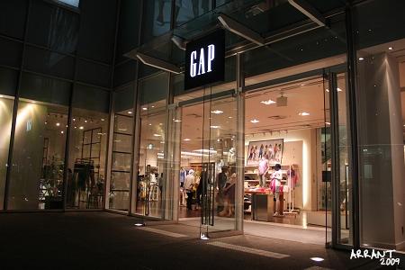 平價品牌GAP