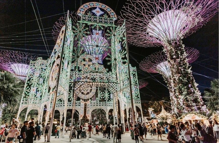濱海灣花園-聖誕仙境(圖由新加坡旅遊局提供).jpg