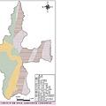 水里鄉地質分佈示意圖