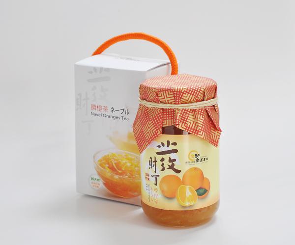 新樂園農場臍橙茶