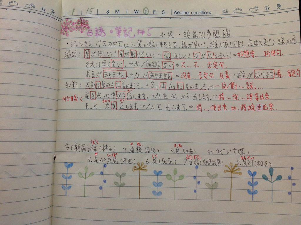 日語筆記#5