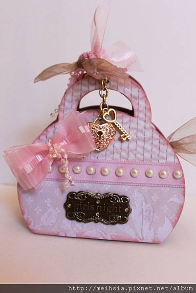 Girly Purse mini album 手作迷你相本