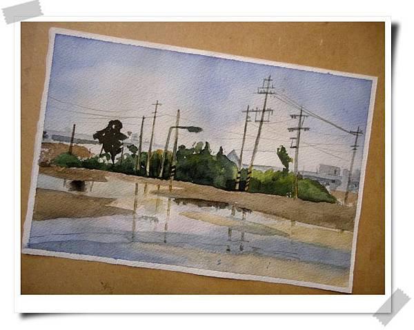 (15)水彩臨摹--街景(二)2-2