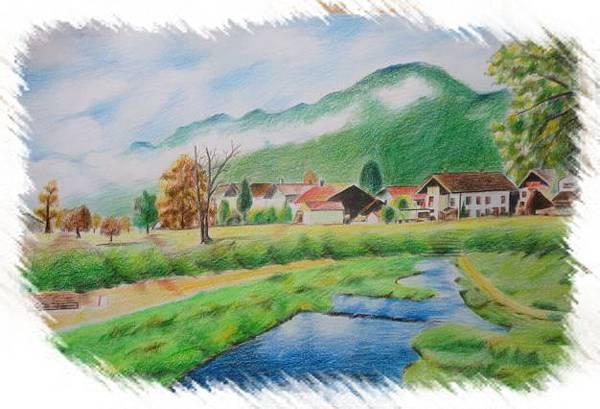 (21)色鉛筆--河岸森林農莊2-2.jpg