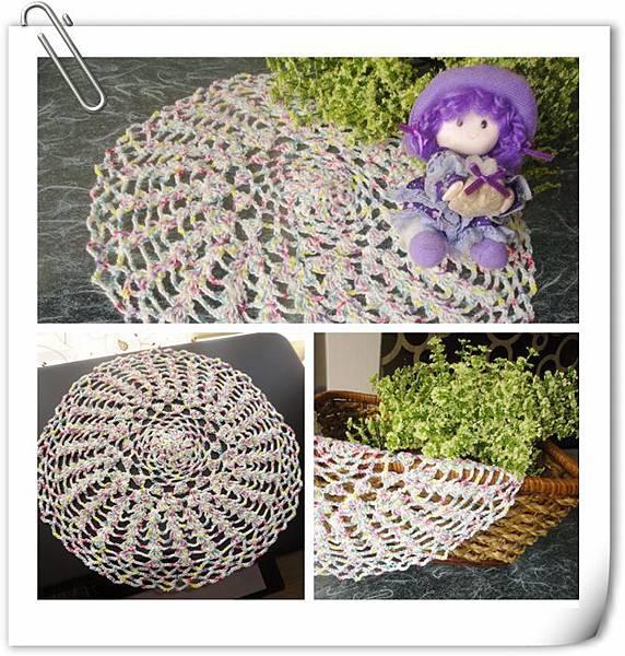 (17)鉤織--桌巾飾墊2-1