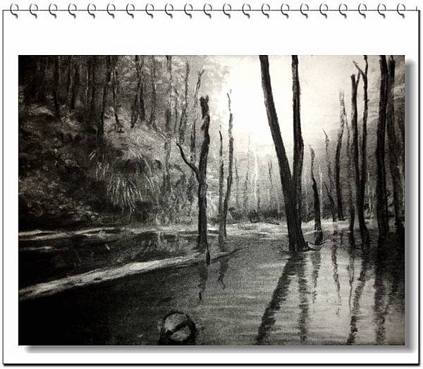 (6)炭筆素描-迷霧森林2-1.jpg