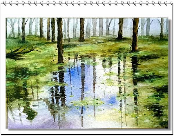 (55)水彩--森林2-1.jpg