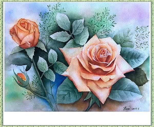 (64)水彩--玫瑰(一)2-1.jpg