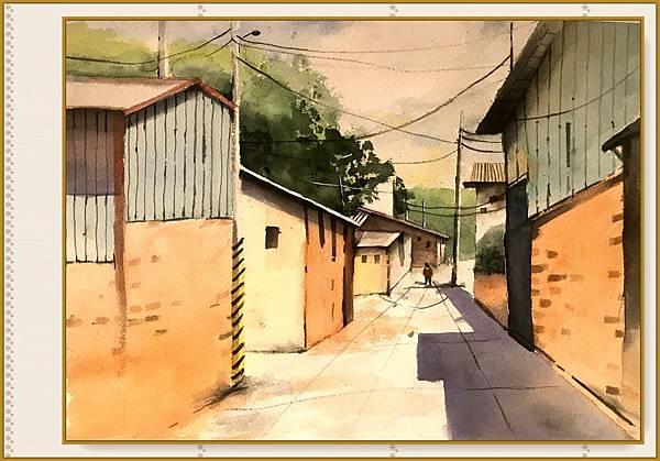 (85)水彩臨摹-西螺小巷2-1.jpg