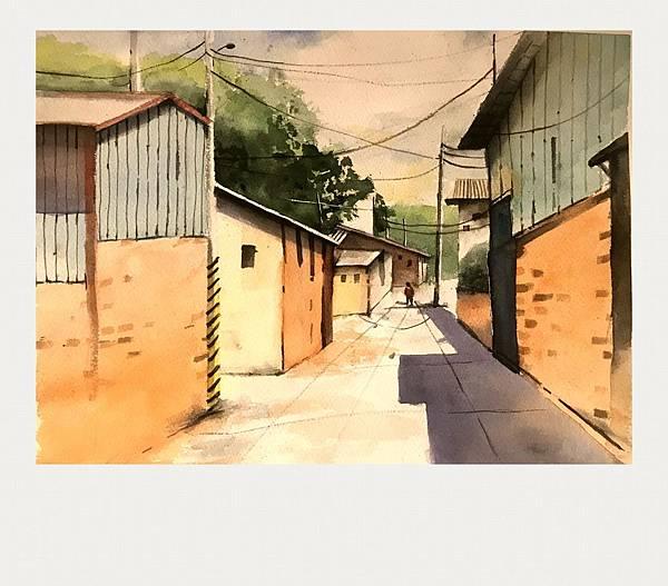 (85)水彩臨摹-西螺小巷2-2.jpg