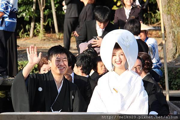 美麗大方的新娘