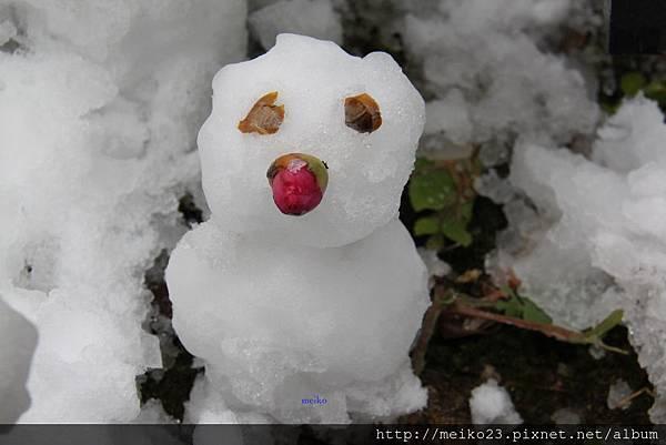 20150103清水寺自製雪人