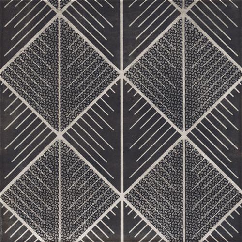 美利德磁磚_維歐納花磚-01黑白幾合_3 20X20