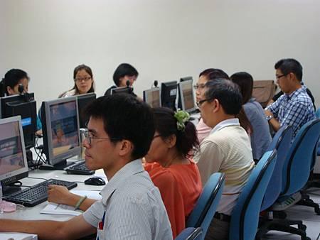 電腦室上課
