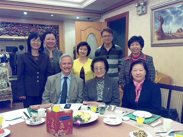 李老師參加ASIST台北分會晚宴
