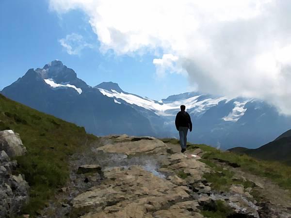 MM in Swiss Alps.JPG