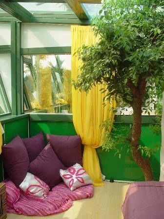 綠光三樓的臥房