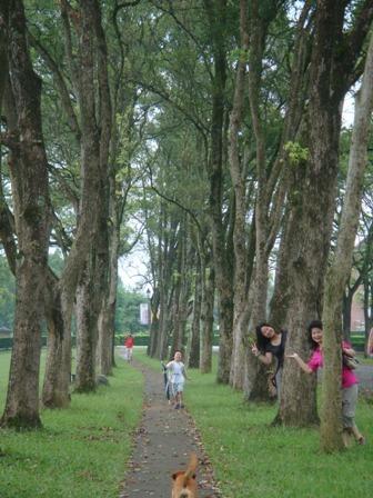 小少爺和自己和郭家友人到隔壁的三育奔跑