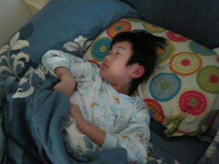 八歲生日當天一早清醒時