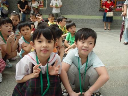 幼稚園的同學在同班喔