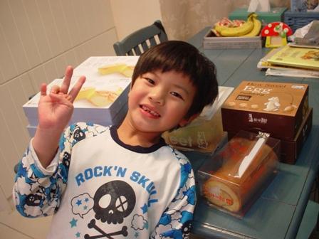 七歲生日所準備的所有蛋糕喔