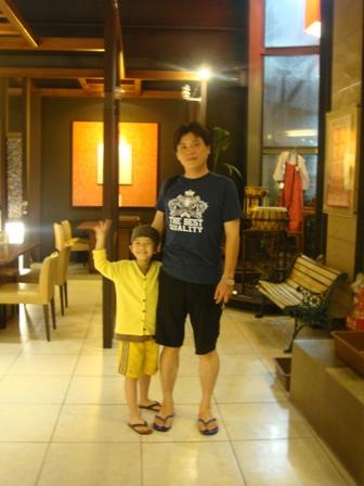 颱風夜冒險出門吃飯