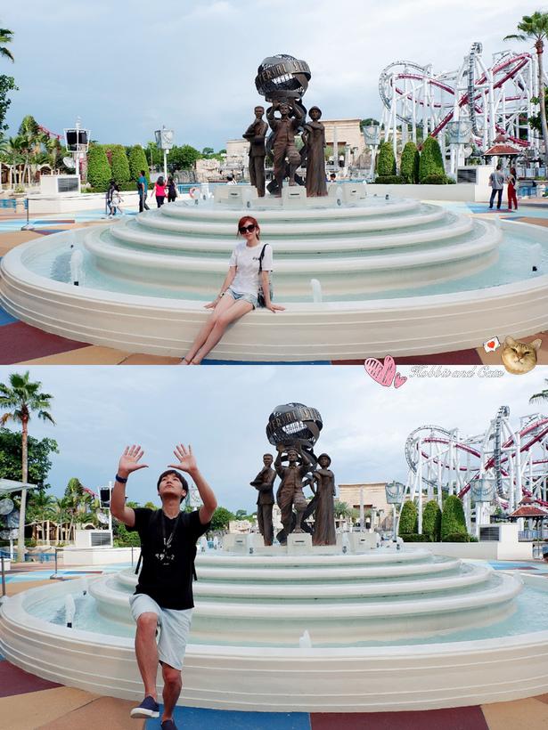 新加坡環球影城噴水池.jpg