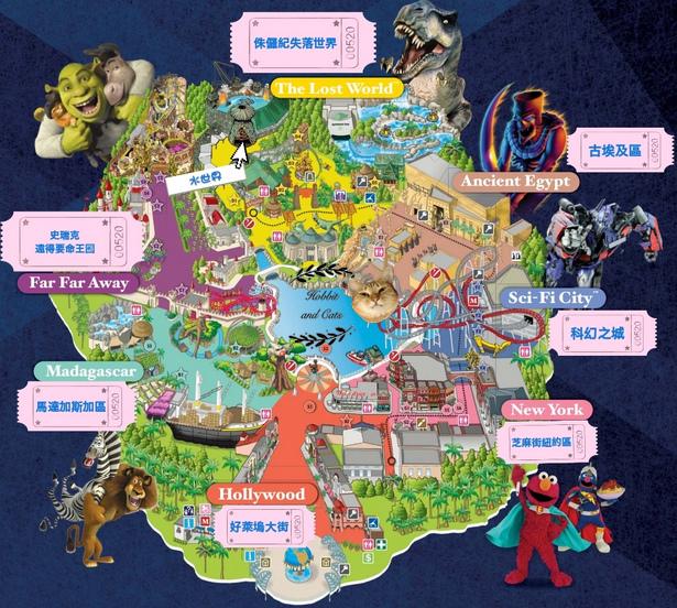 新加坡環球影城地圖.jpg