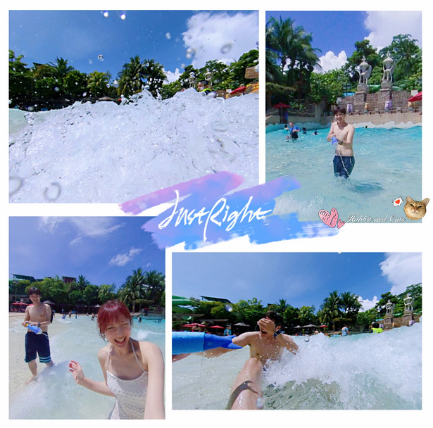 新加坡水上探險樂園海浪池打水仗.jpg