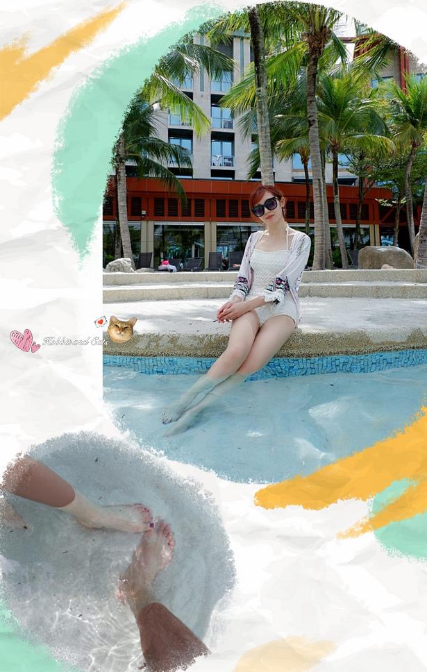新加坡聖淘沙名勝世界Hard Rock飯店白沙灣泳池.jpg