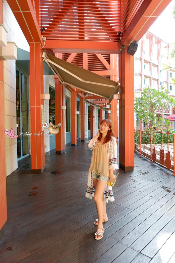 新加坡聖淘沙名勝世界Hard Rock飯店長廊.jpg