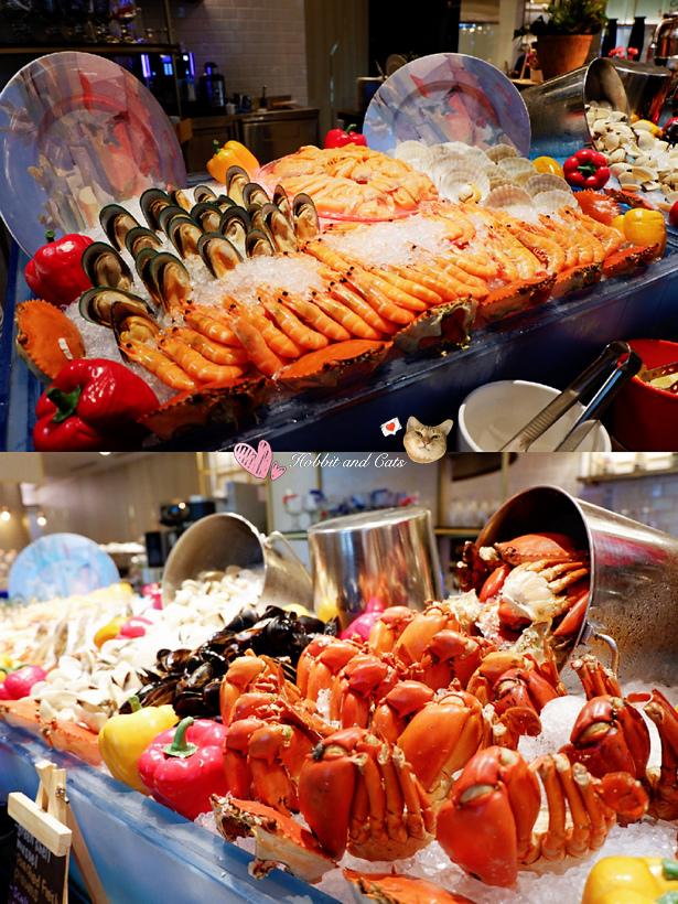 新加坡聖淘沙名勝世界Hard Rock飯店晚餐buffet.jpg