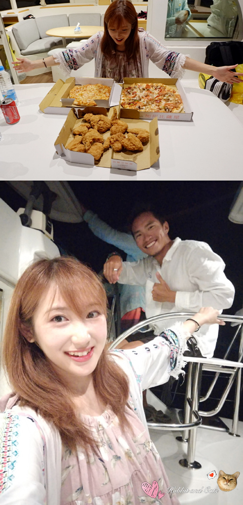 澎湖密境之旅夢想航海澎湖帆船花火之夜餐點.jpg