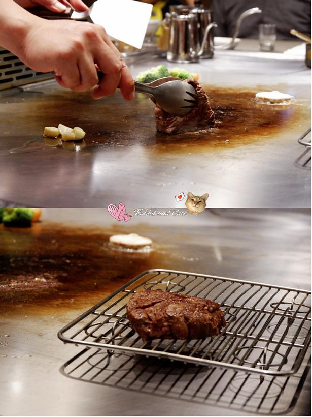 新竹竹北享廚鐵板燒牛排靜置.jpg