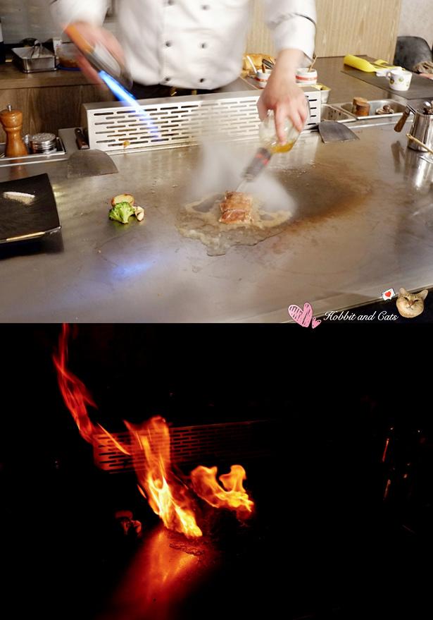 新竹竹北享廚鐵板燒法是莓果櫻桃鴨.jpg